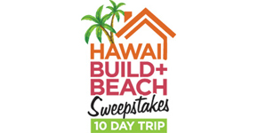 Hwaii Build and Beach Contest Logo